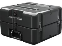 Rugged rotationally molded shipping cases
