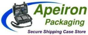 Apeiron Packaging delivers custom foam interiors for Pelican Products, Storm and Parker Cases.