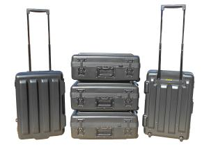 XHDT Tote series case for mobile test equipment.